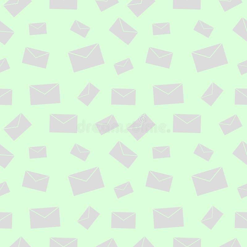 Download 无缝的传染媒介样式,与信件的轻的淡色没有阴影的混乱背景 向量例证 - 插画 包括有 消息, 抽象: 62531565