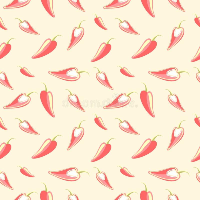 Download 无缝的传染媒介样式,轻的淡色混乱背景用辣椒 向量例证. 插画 包括有 例证, 自然, 食物, 模式, 成份 - 62531575