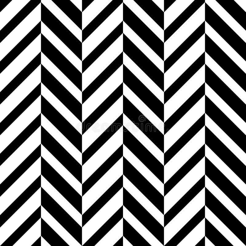 无缝的光学Z形图案 皇族释放例证