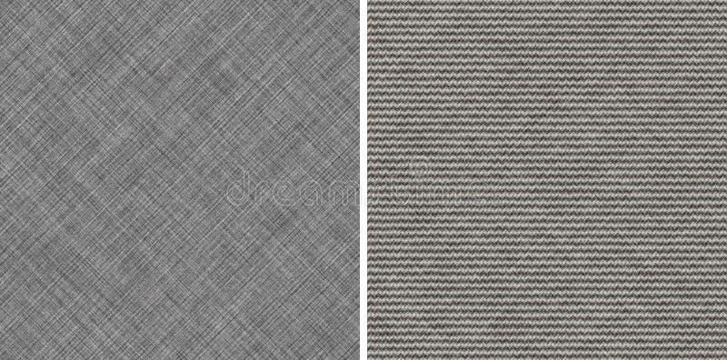 无缝的典雅的灰色织品 向量例证