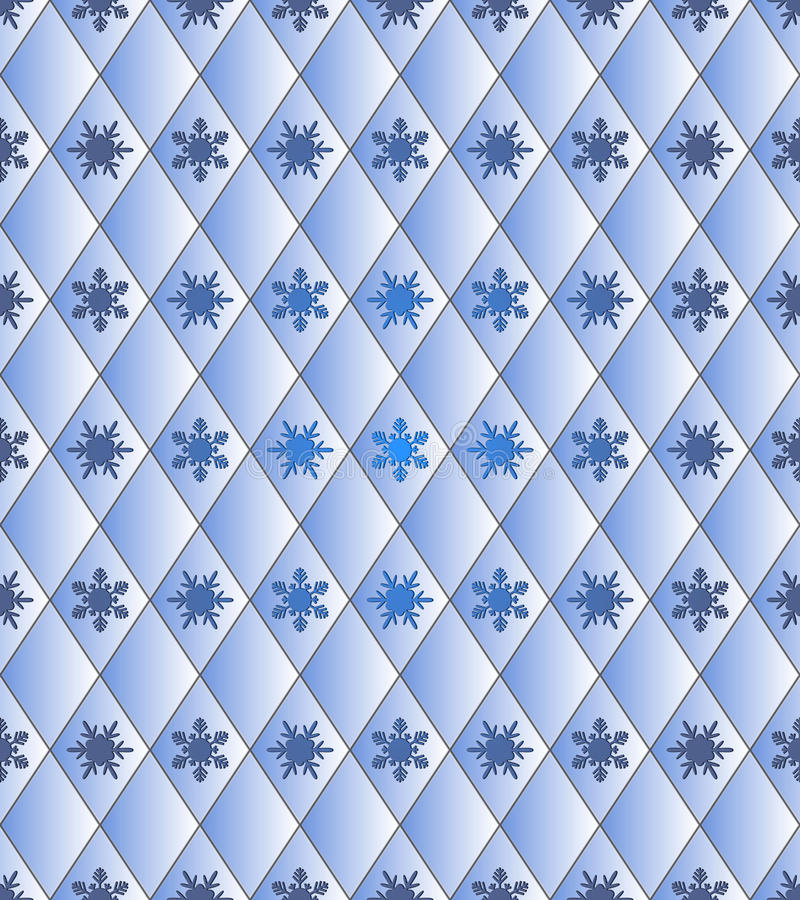 Download 无缝的冬天背景-与雪花的菱形 向量例证. 插画 包括有 不尽, 桌面, 再生产, 织品, 纸张, 菱形, 详细资料 - 62531127