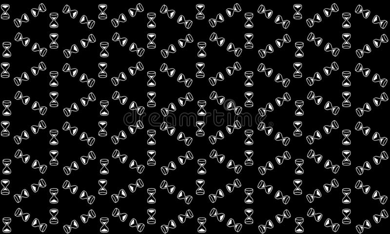 无缝的几何传染媒介背景,简单的黑白条纹传染媒介样式,准确,编辑可能和有用的背景为 皇族释放例证