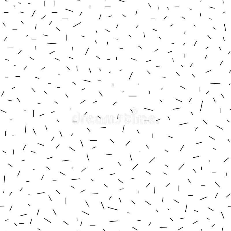 无缝的几何抽象样式-破折号 库存例证
