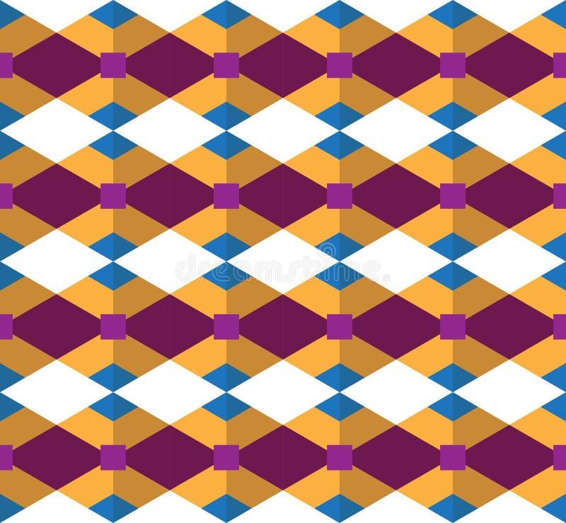 无缝的几何样式;被设计的几何传染媒介 库存照片