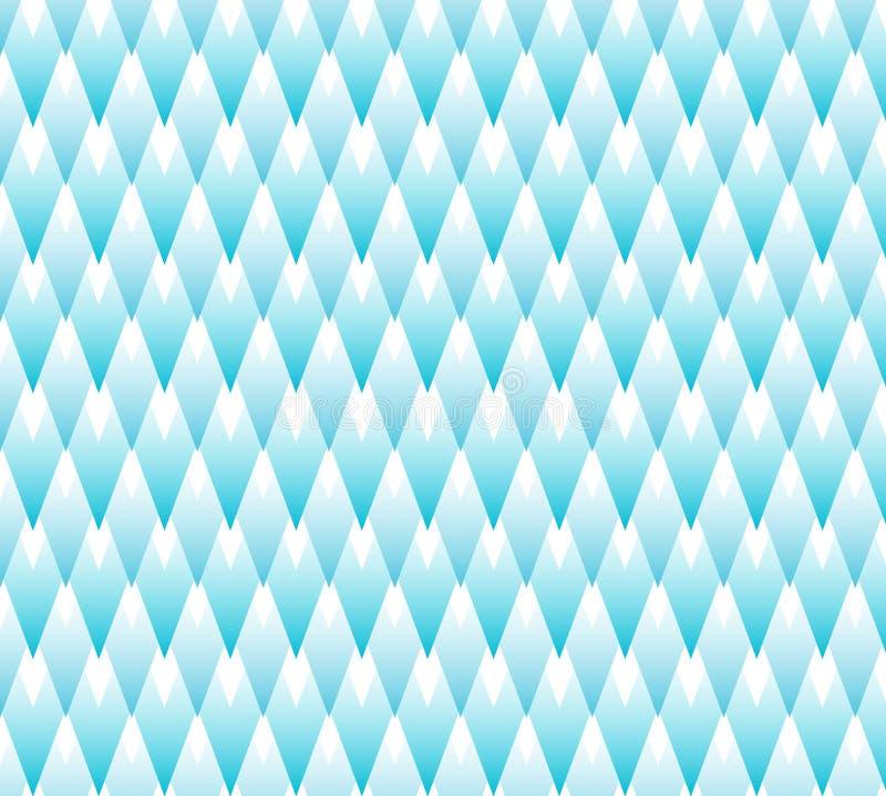 无缝的几何装饰背景 库存例证