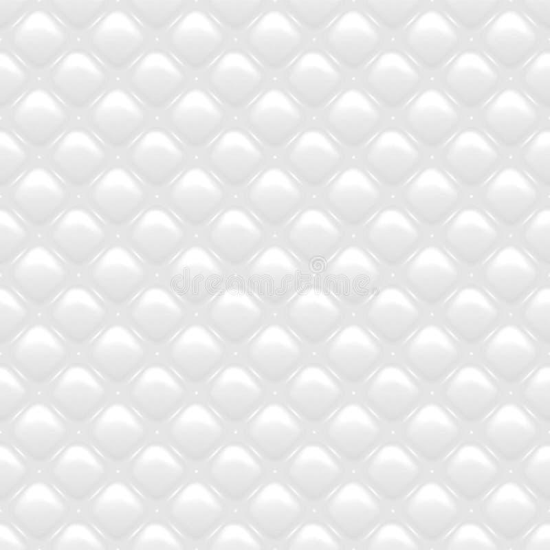 无缝的凸面纹理 向量例证