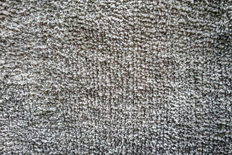 无缝的单色灰色地毯纹理背景 免版税图库摄影