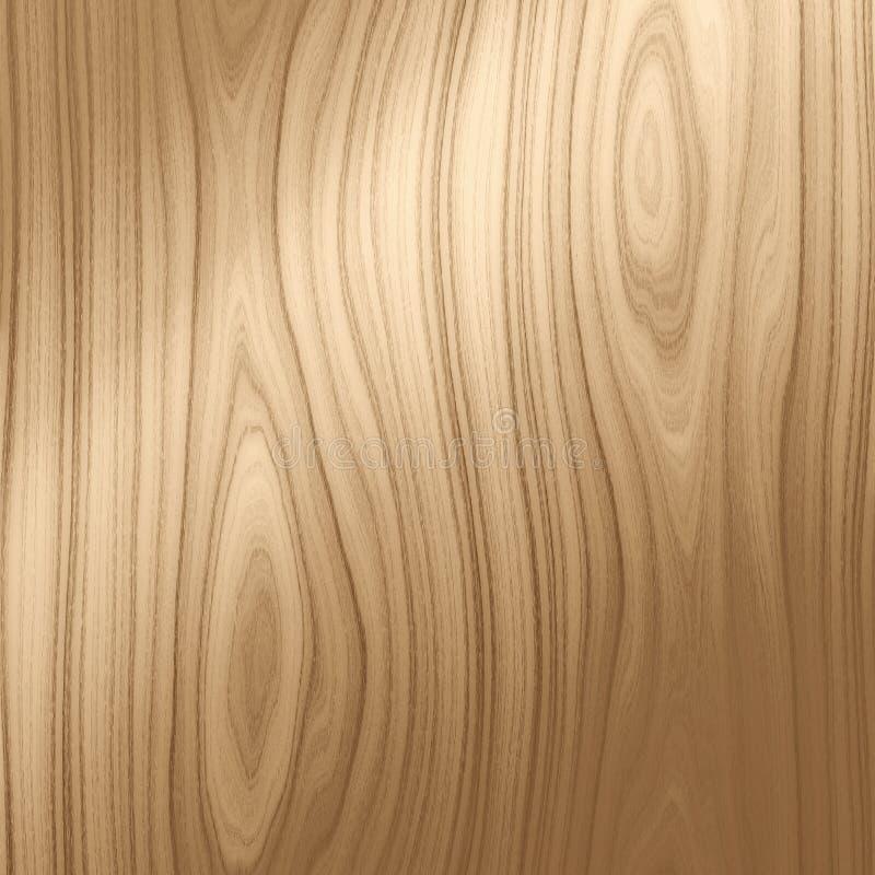无缝的向量木头 向量例证