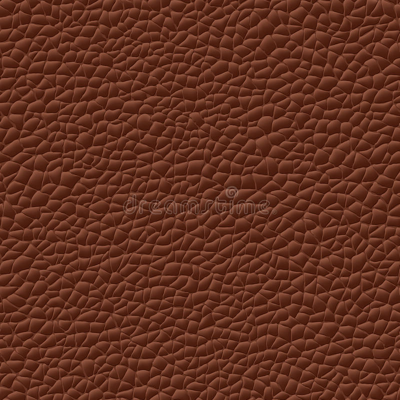无缝的向量皮革纹理背景 皇族释放例证