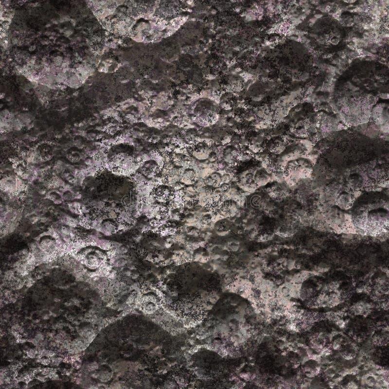 无缝的外籍人行星表面 免版税图库摄影