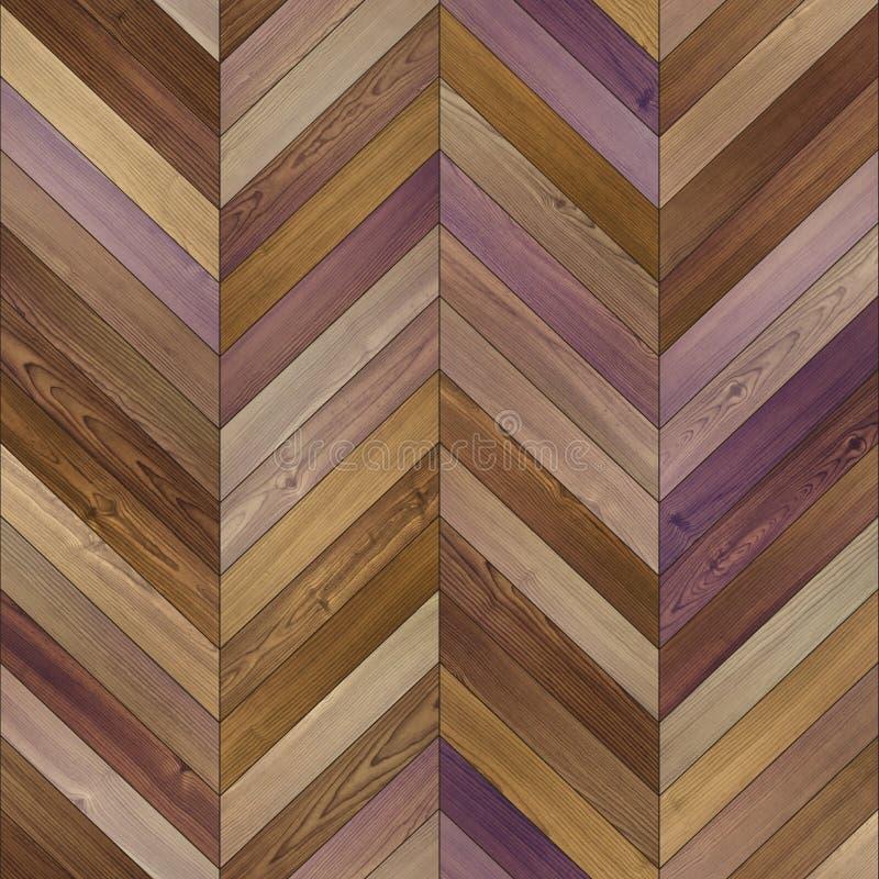 无缝的夹子艺术木条地板纹理 图库摄影