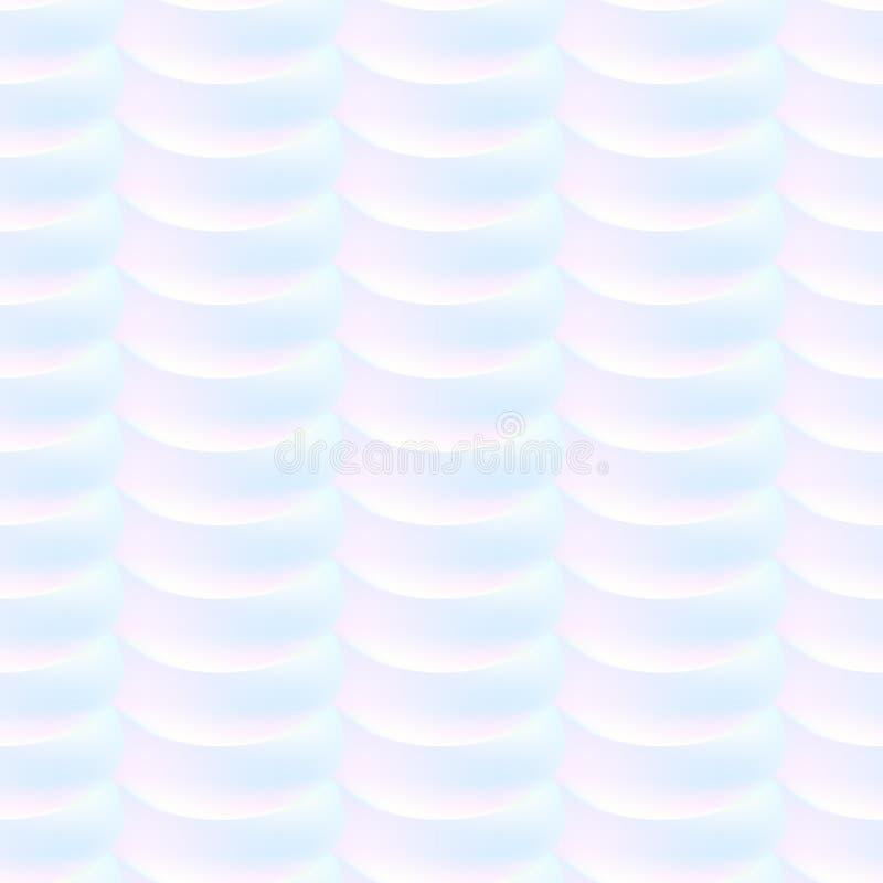 无缝的彩虹纹理 抽象多色模式 重复的全息照相的元素 皇族释放例证