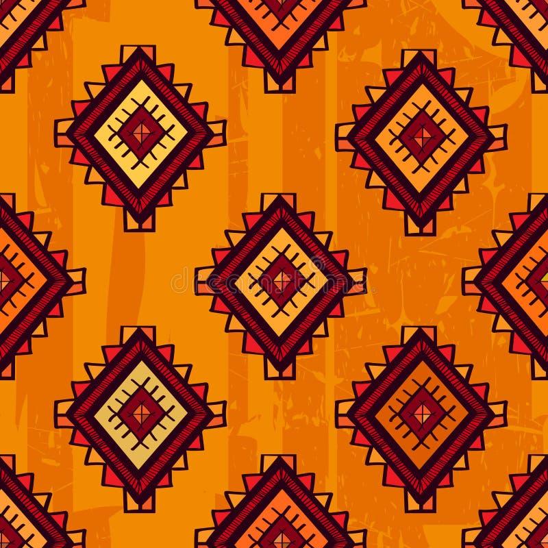 无缝的抽象传染媒介种族样式 部族传染媒介设计 S 向量例证