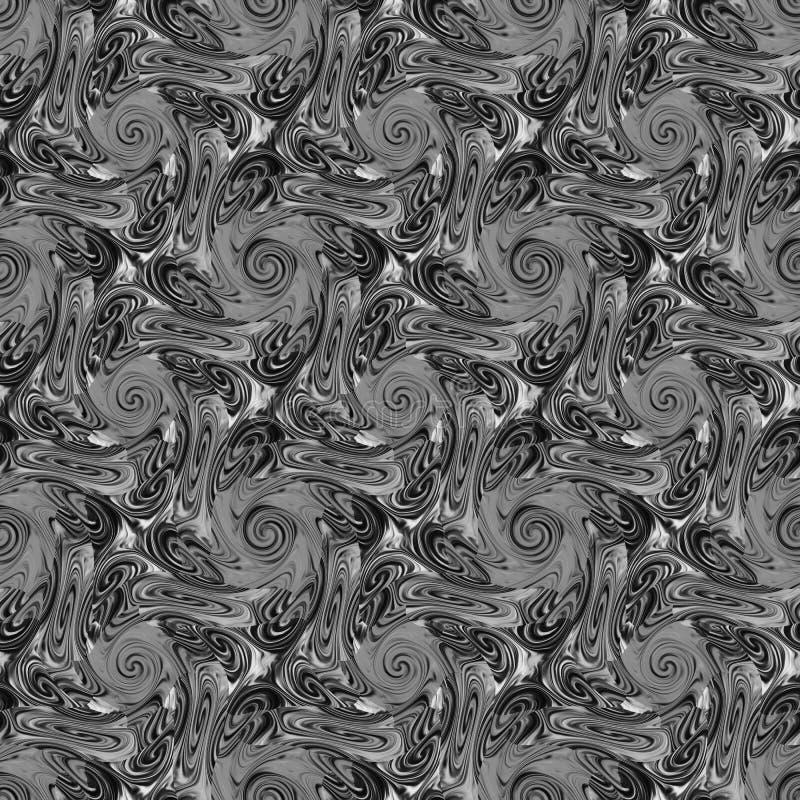 无缝的抽象样式 库存例证