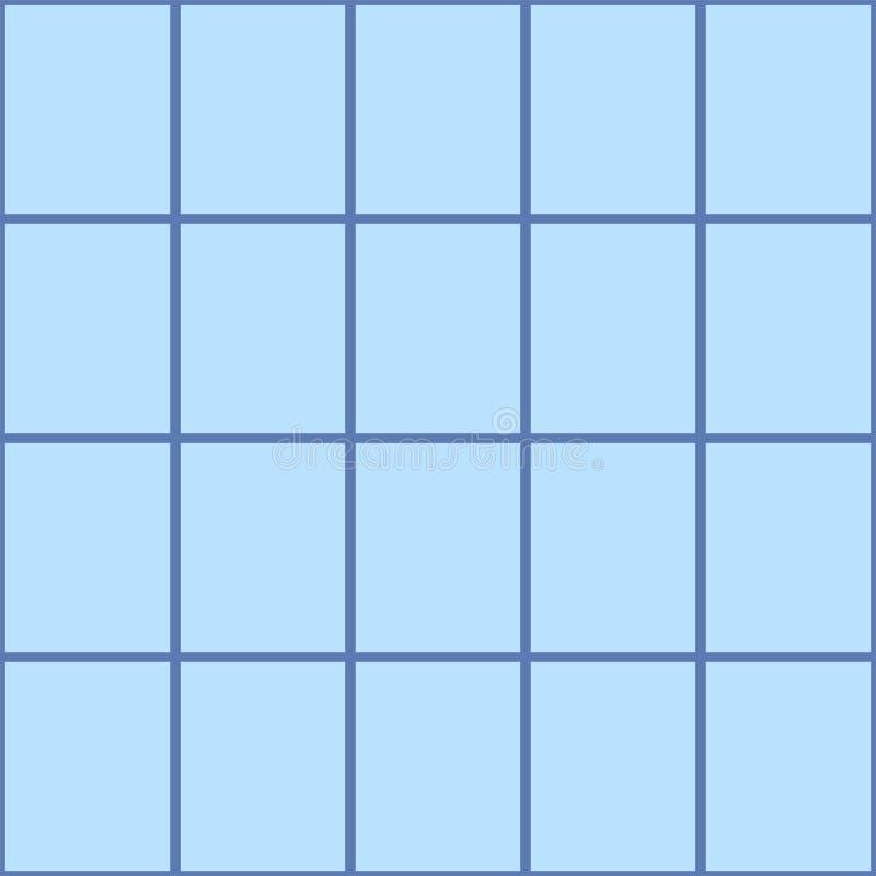 无缝的方形的传染媒介背景 向量例证