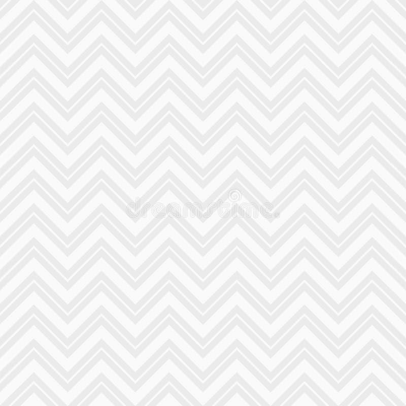 无缝的时尚Z形图案 之字形线 雪佛样式 人字形样式 皇族释放例证