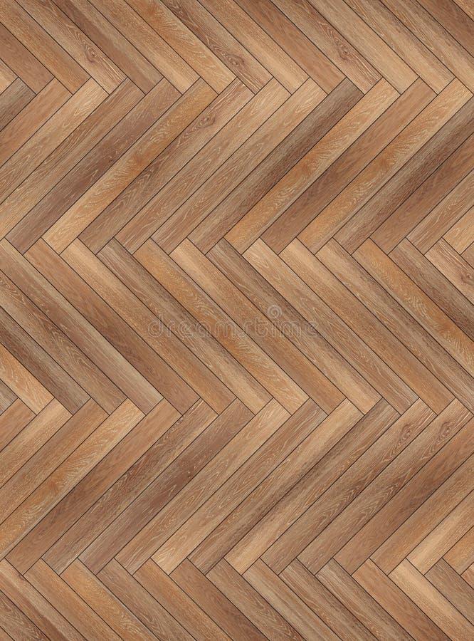 无缝的木木条地板纹理人字形共同性 库存图片