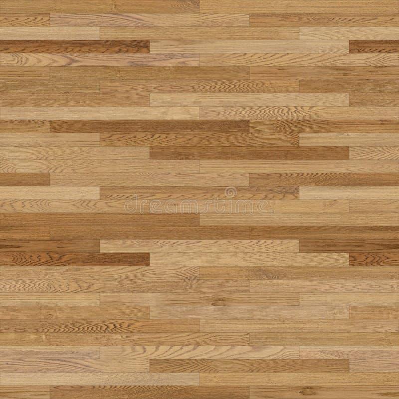 无缝的木木条地板纹理线性浅褐色 皇族释放例证