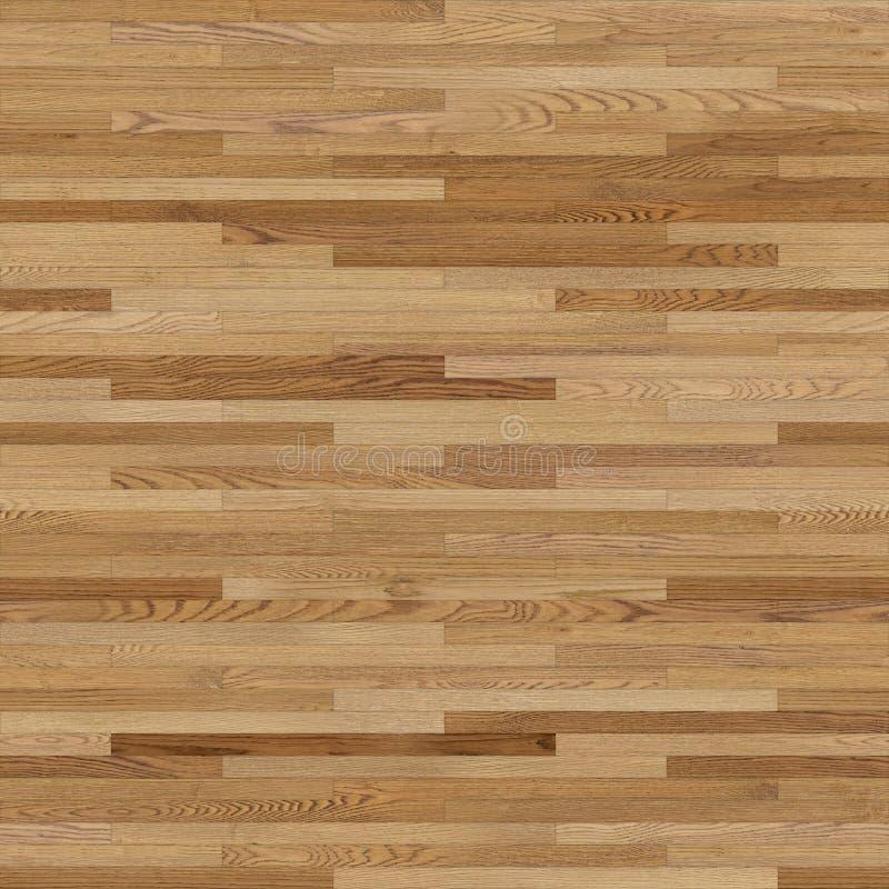 无缝的木木条地板纹理线性浅褐色 向量例证