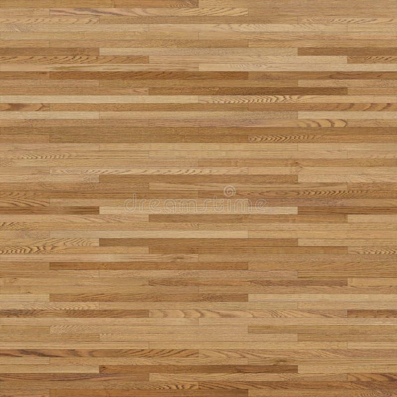 无缝的木木条地板纹理线性浅褐色 库存例证