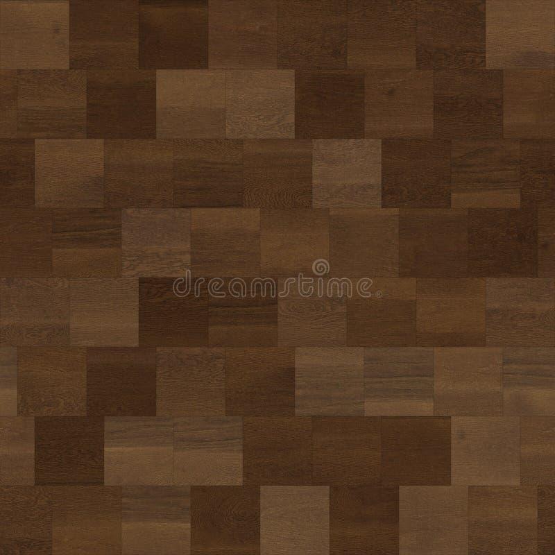 无缝的木木条地板纹理线性褐色 皇族释放例证