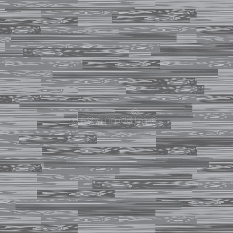 无缝的木条地板地板 镶花木细工纹理 楼层背景 传染媒介木头样式 与板条的层压制品您的室内设计的 库存例证