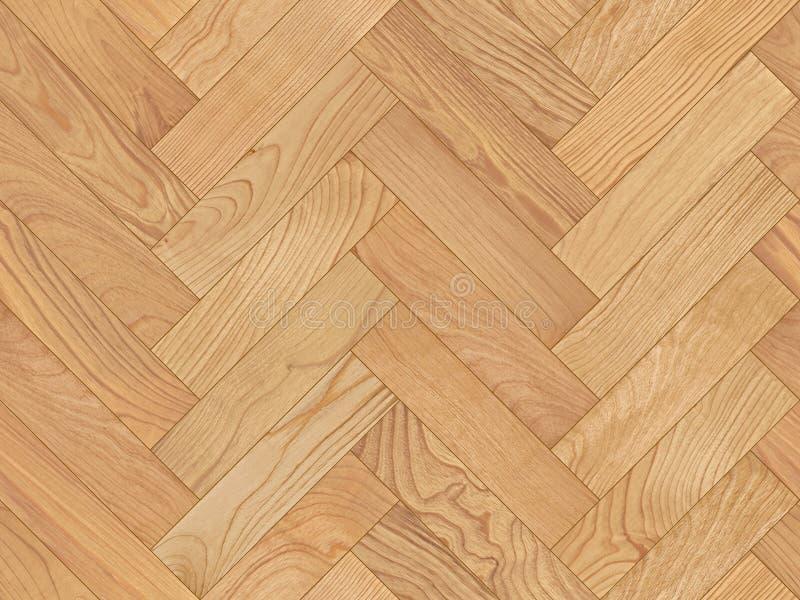 无缝的木条地板纹理 库存图片