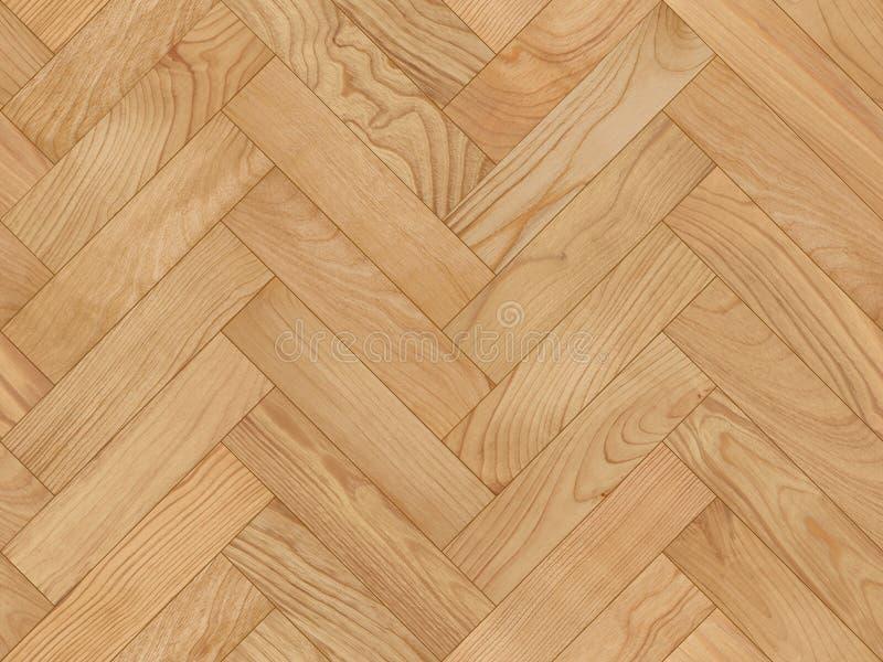 无缝的木条地板纹理 免版税库存照片