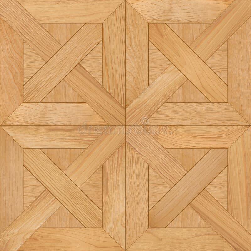 无缝的木条地板纹理 免版税图库摄影