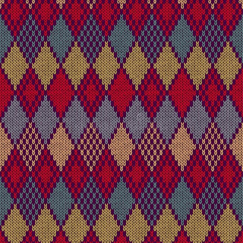 无缝的样式。编织纹理 库存例证