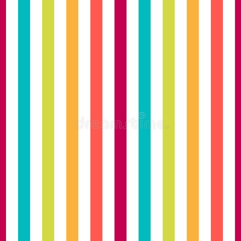 无缝的样式条纹五颜六色的淡色 垂直的样式条纹摘要背景传染媒介例证 皇族释放例证