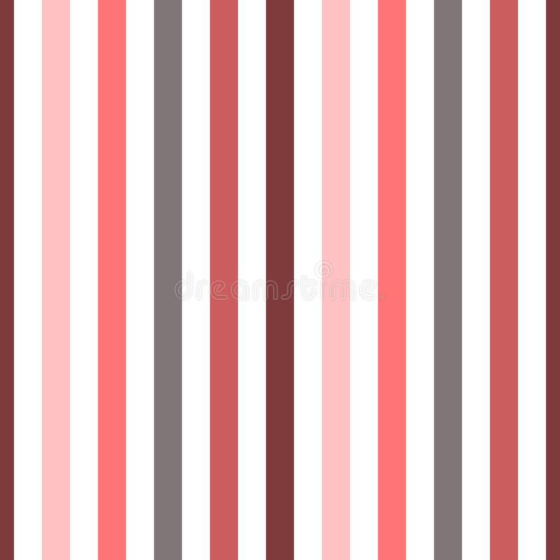 无缝的样式条纹五颜六色的颜色 垂直的样式条纹摘要背景传染媒介例证 库存例证