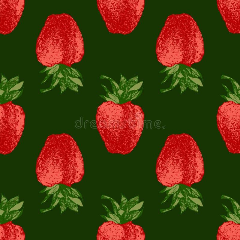 Download 无缝的样式用新鲜的草莓 向量例证. 插画 包括有 叶子, 健康, 例证, 自然, 水多, 新鲜, 查出, 工厂 - 72354704