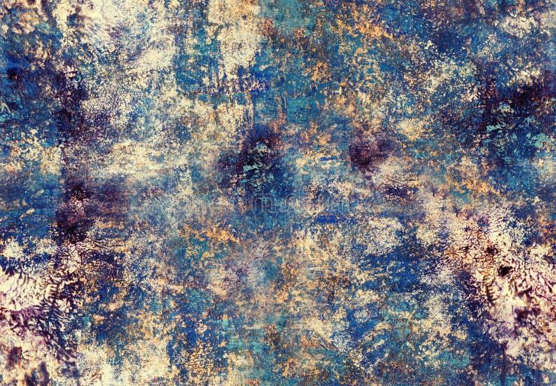 绘无缝的样式的艺术 库存例证