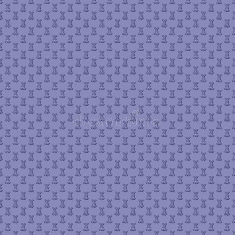 无缝的模式 设计墙纸、包装纸、纺织品印刷品和等的元素 向量例证