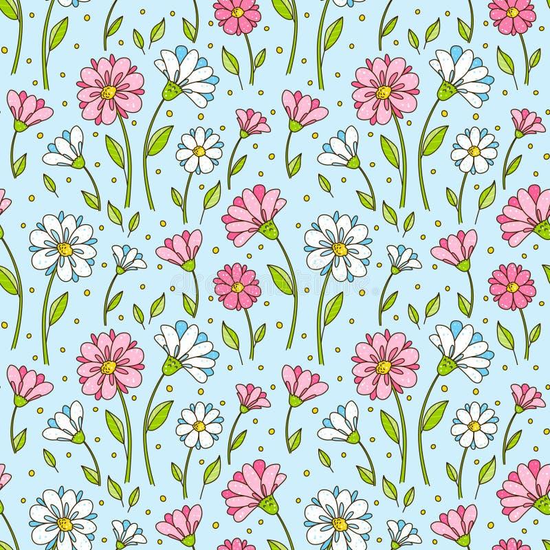 Download 无缝的模式 库存例证. 插画 包括有 图象, 雏菊, 例证, 装饰, 本质, 华丽, 无缝, 模式, 开花 - 72359782