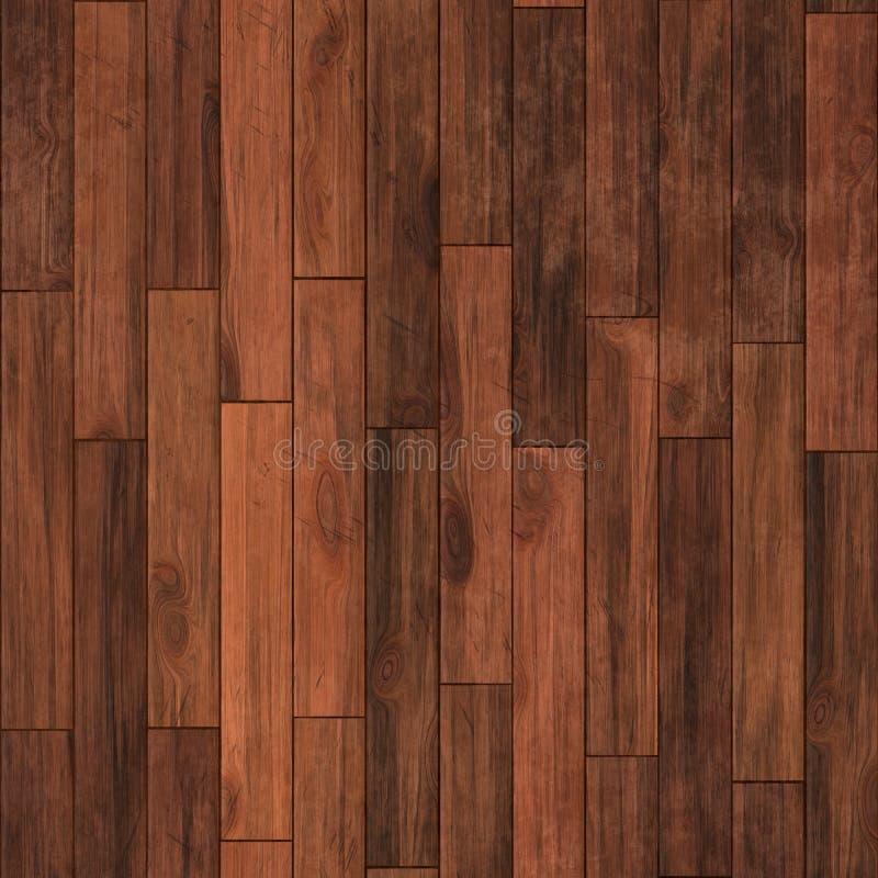 无缝的硬木地板 免版税库存照片