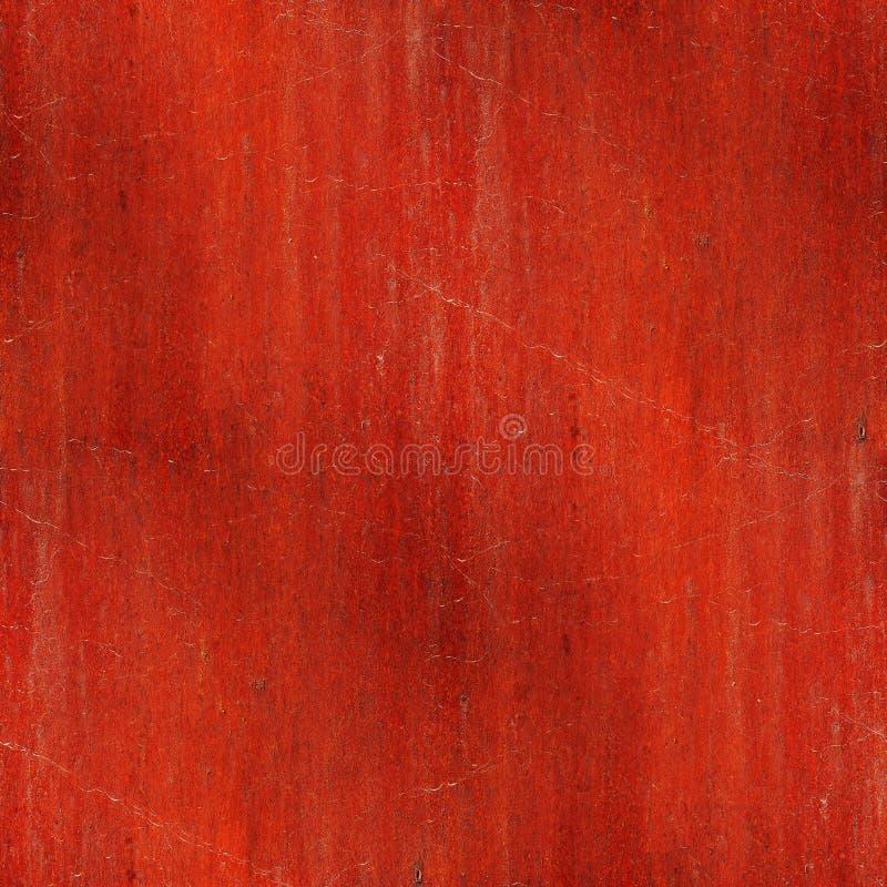无缝的红褐色的生锈的铁背景墙壁 免版税库存图片