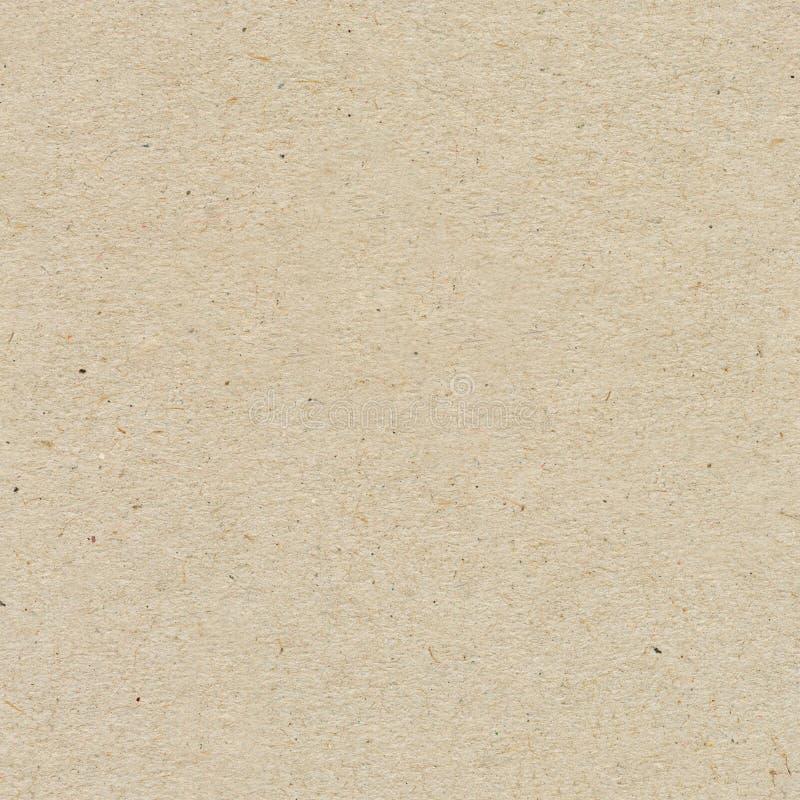 无缝的纸纹理,纸板背景 图库摄影