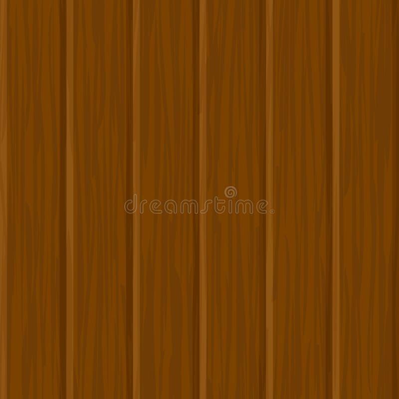 无缝的纹理墙壁木头 皇族释放例证