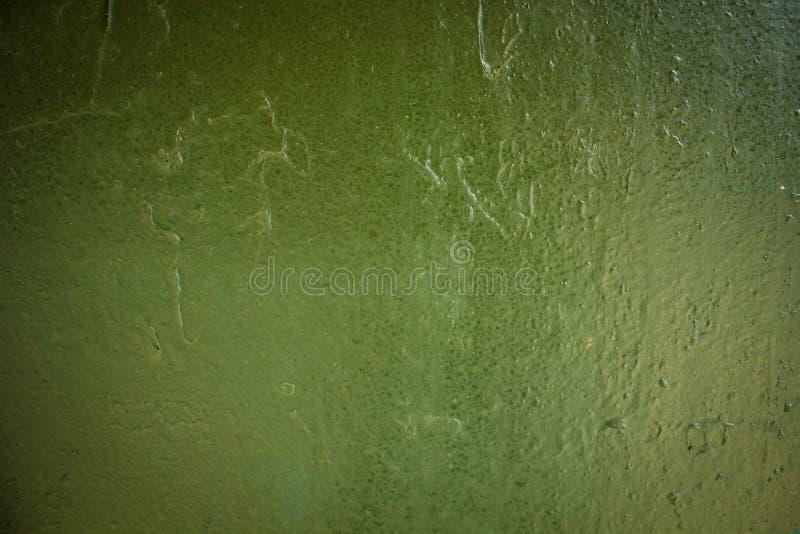 无缝的纹理墙壁绿色油漆下落 库存照片