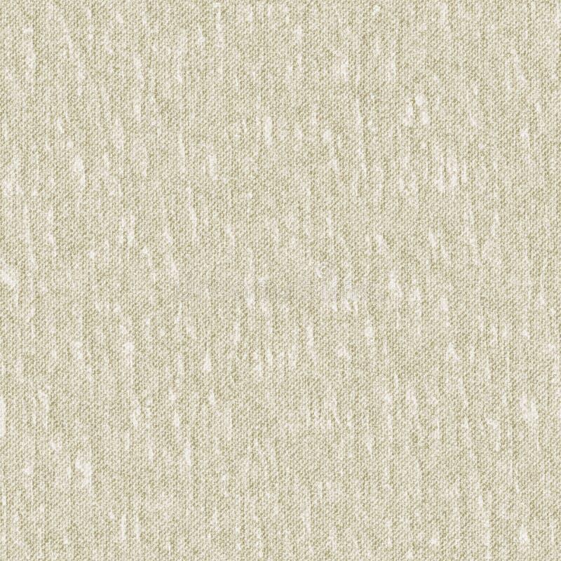 无缝的纹理被弄皱的亚麻布 仿效 向量例证