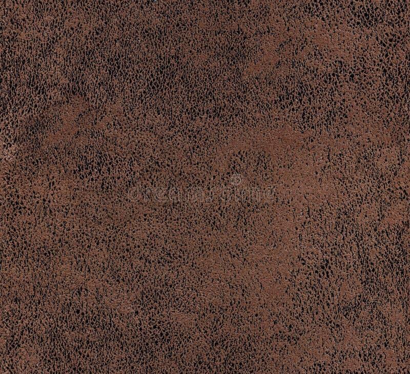 无缝的绒面革纹理 免版税库存图片