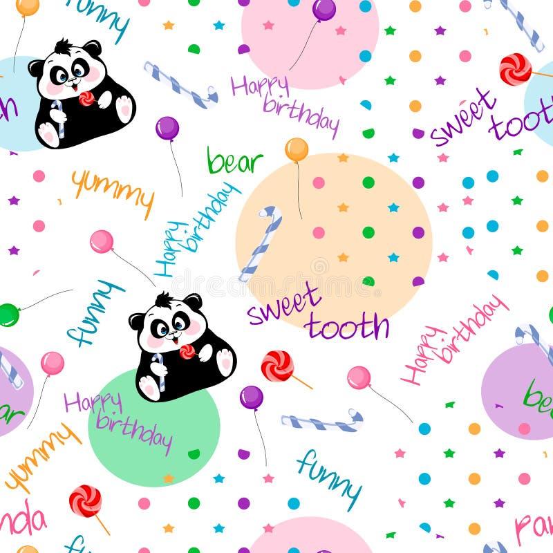 Download 无缝的背景墙纸一揽子旅游 向量例证. 插画 包括有 几何, 欢乐, 熊猫, 糖果, 抽象, 要素, 气球 - 59111342