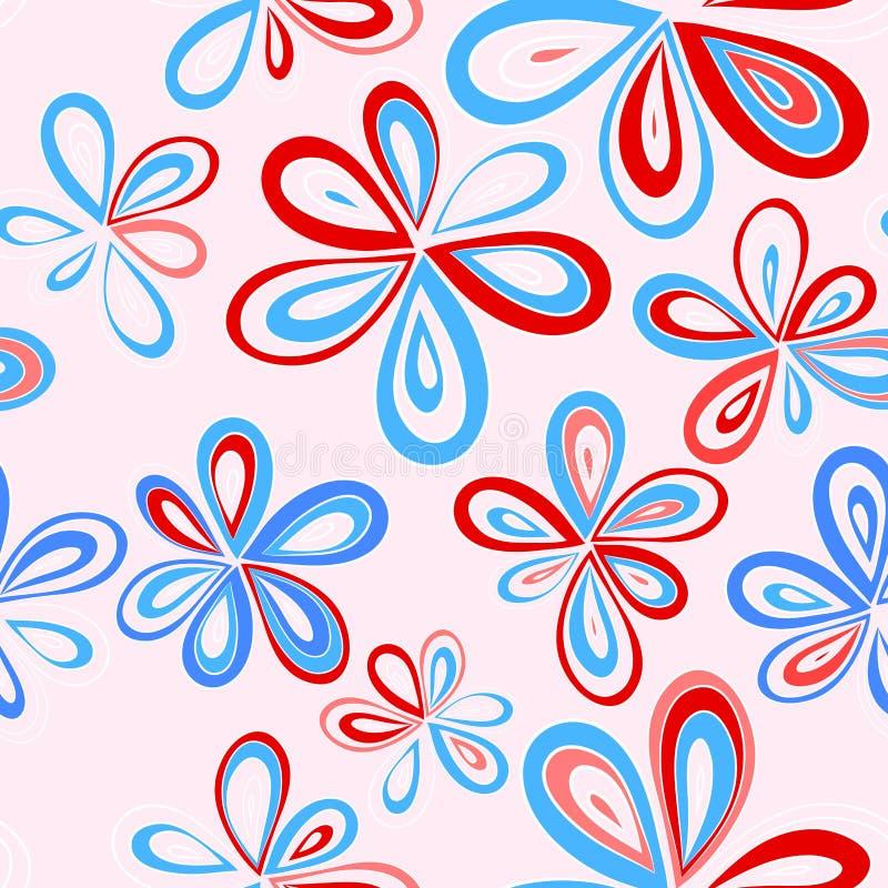 Download 无缝的背景 向量例证. 插画 包括有 例证, 创造性, 问候, 蓝色, 本质, 鸦片, 幻想, 开花, 模式 - 30335286