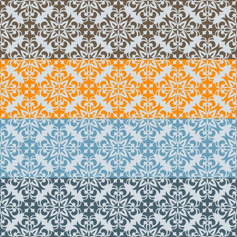 Download 无缝的花卉边界 向量例证. 插画 包括有 发光, 卷毛, 设计, 国界的, 框架, 自然, 蓝色, 亮光 - 30327203