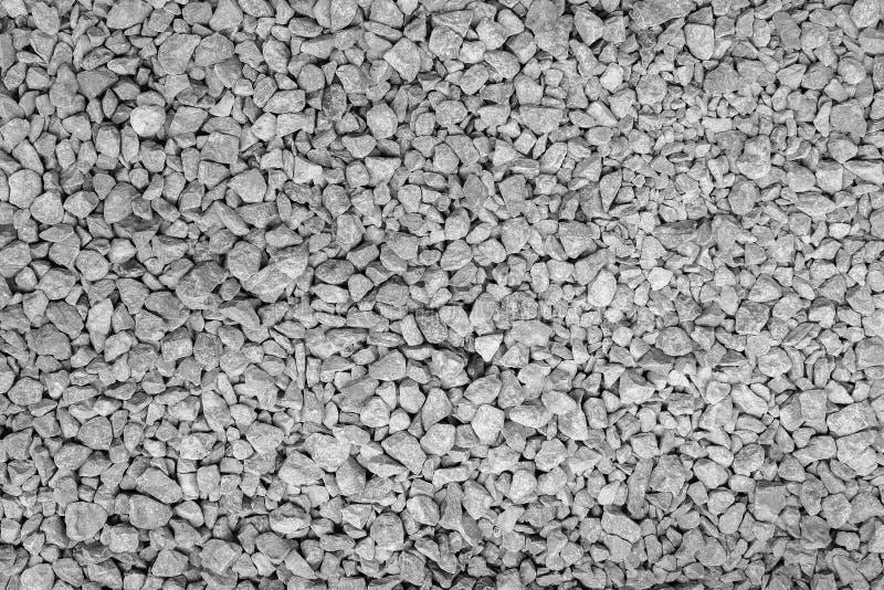 无缝的花岗岩瓦砾岩石纹理背景 图库摄影