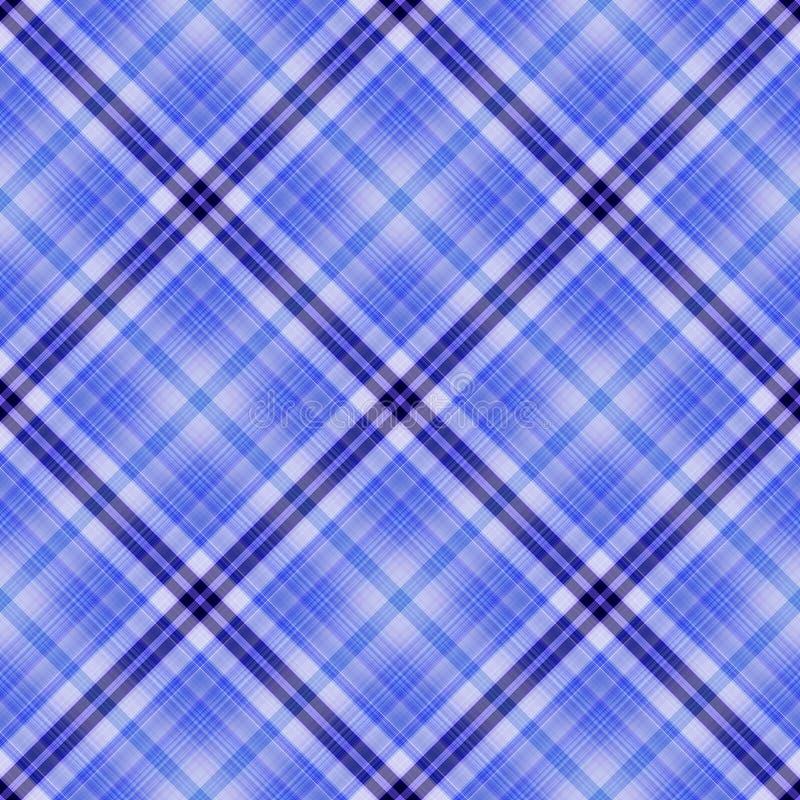 无缝的蓝色 向量例证