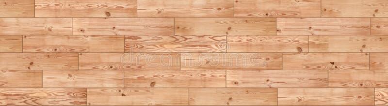无缝的轻的木地板纹理 木木条地板 地板 免版税库存照片