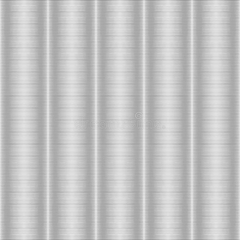 无缝的银色镶边纹理 没有梯度 库存例证